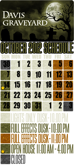 October 2012 Calendar